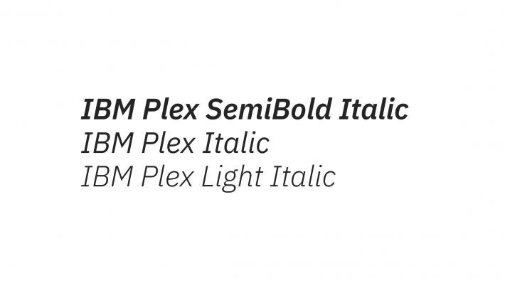 IBM Plex Font Free by IBM » Font Squirrel