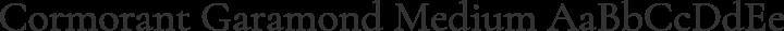 Cormorant Garamond Medium free font