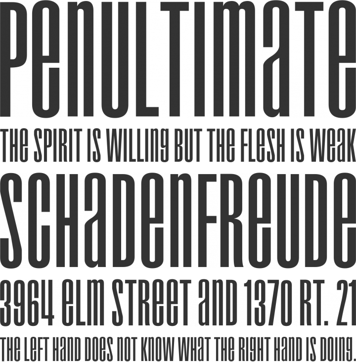 Droid Font Phrases