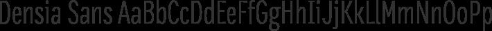 Densia Sans font family by Harbor Type