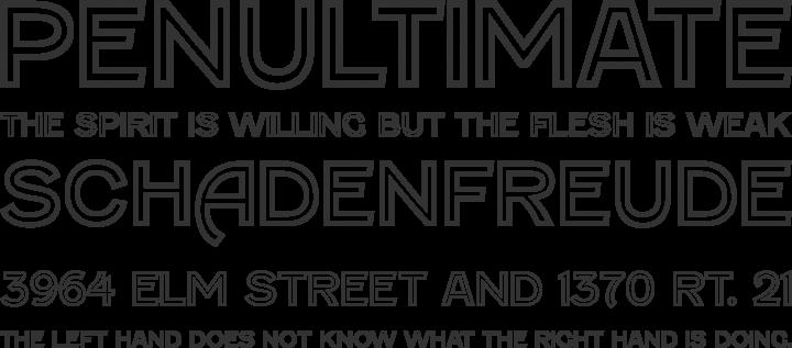 Fenwick Font Phrases