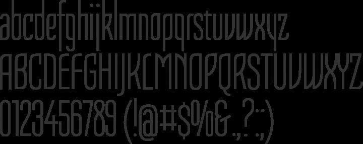 Tulpen One Font Specimen
