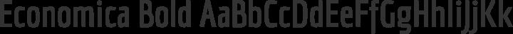 Economica Bold free font