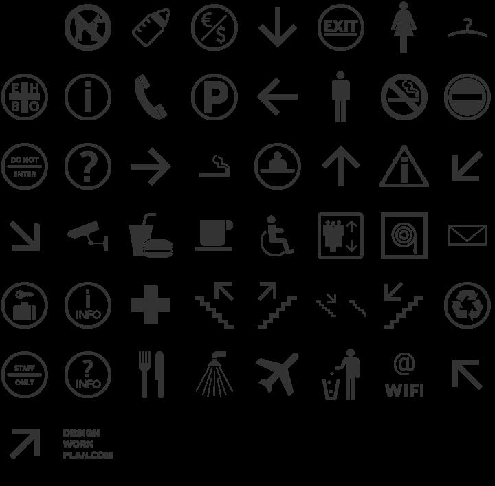 Symbol Signs Dingbat Font Specimen