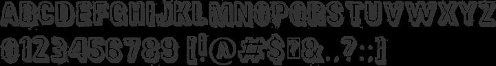 District Font Specimen
