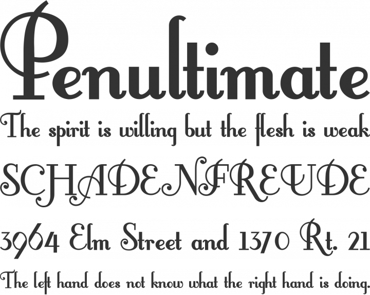 FontleroyBrown Font Phrases