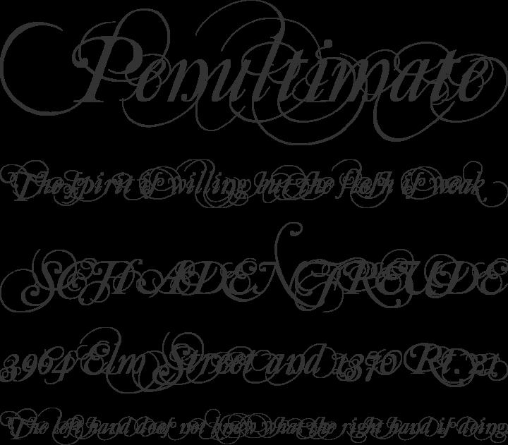 Mutlu Font Phrases