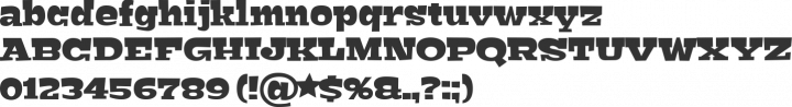 Bigfish Font Specimen