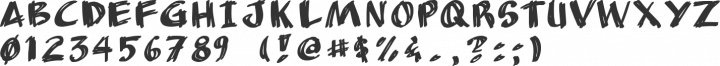 AnuDaw Font Specimen