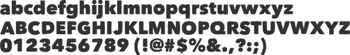 Matiz Font Specimen