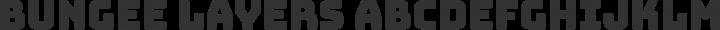Bungee Layers Regular free font