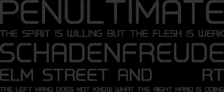 Primus Font Phrases