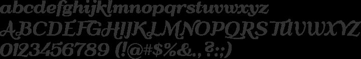 QumpellkaNo12 Font Specimen