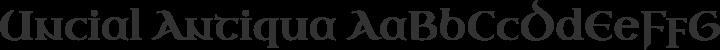 Uncial Antiqua Regular free font