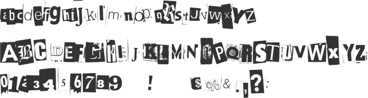 BlackCasper Font Specimen
