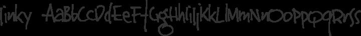 Jinky Regular free font