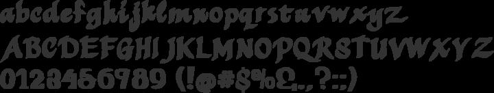 MothproofScript Font Specimen