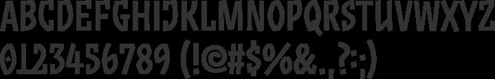 ZalamanderCaps Font Specimen