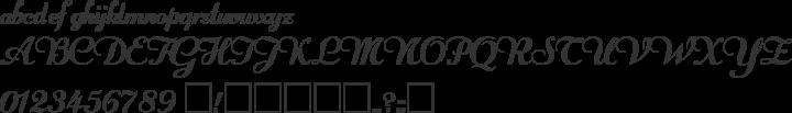 Rechtman Font Specimen