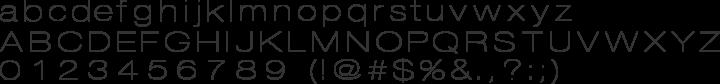 DISCO Font Specimen