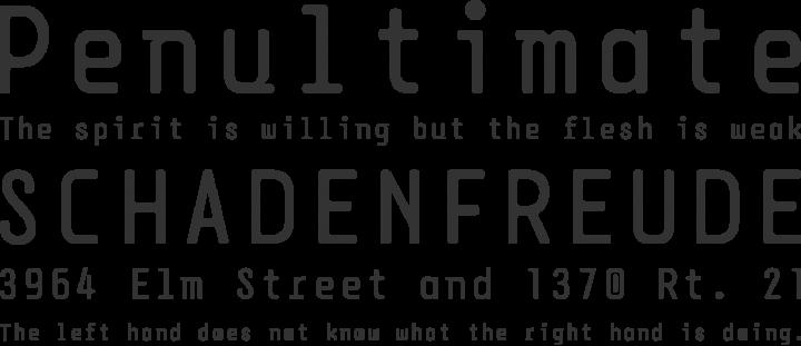 DPSDbeyond Font Phrases