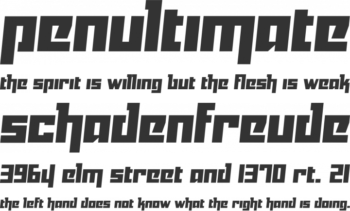 Yukarimobile Font Phrases