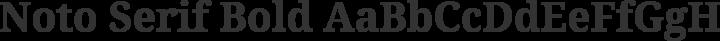 Noto Serif Bold free font