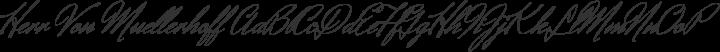 Herr Von Muellerhoff Regular free font