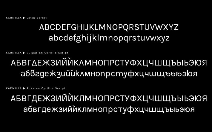 Karmilla Font Free by Greyscale Press » Font Squirrel